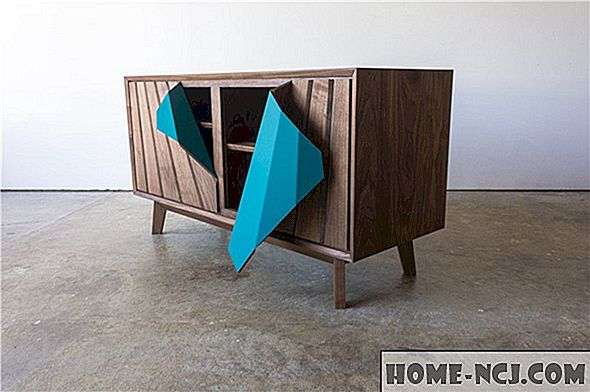 See Mesmerizing Credenza Literally Peels Open, May Н