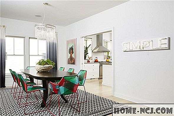 Hur Pops Of Color Transformed Dessa Classic White Rooms, May Н
